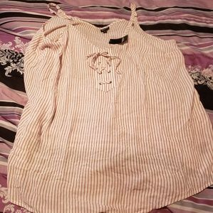 Torrid striped top NEW WITH TAG